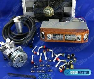 Universal Underdash Air Conditioning Kit 406 w 12v With Electrical Harness 12x16