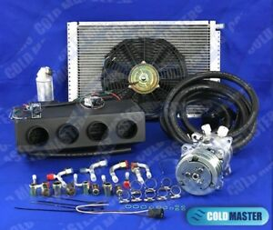 A C Kit Universal Underdash Evaporator Heat Cool 404 0 With Electric Harness