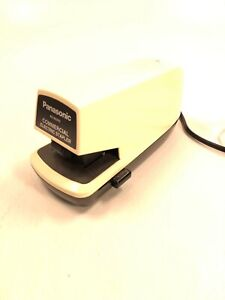 Panasonic Commercial Electric Stapler As 300nn Tested Works Office Supply