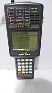 Sunrise Telecom Sunset Sts 1 Handheld Test Set W Options Ad Ey