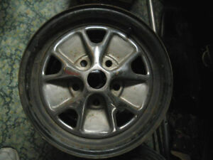 1965 66 Ford Mustang Styled Steel Wheel Rim Gt Magnum