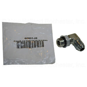 Kinze Elbow 3 4 16 Male 37 Degree Jic To 3 4 O ring Part G6801 08