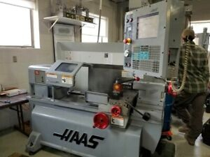 Haas Tl 1 Tool Room Lathe From Tech School Low Hours