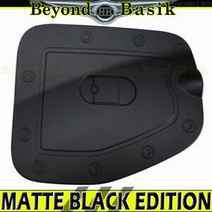 For 2005 2015 Toyota Tacoma Long Bed Matte Black Gas Fuel Door Cover Overlay
