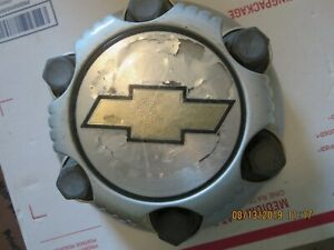 2006 Chevrolet Silverado Pickup 1500 Chrome Plastic 6 Lug Hub Cap 17 Wheel