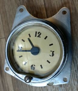 1939 Mercury Clock Excellent Reconditioned