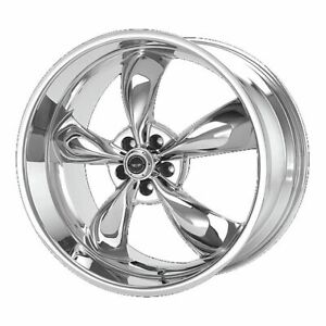 Four 4 17x8 American Racing Torq Thrust M Et 0 Chrome 5x127 5x5 Wheels Rims