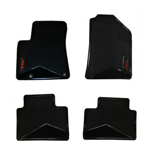 Set Of All Weather Floor Mats For Soul 2020 21 Red Letters
