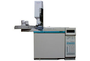 Agilent hp 6890 Gc With Purged packed Inlet Npd Detector And 7683 Als