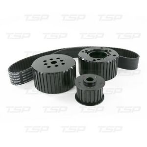 Tsp Small Block Chevy Gilmer Belt Drive Pulley Kit 327 350 400 Short Sbc New