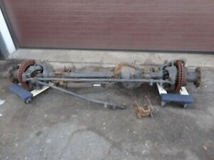 92 97 Ford F350 Front Dana 60 Axle Assembly Dually 4 10