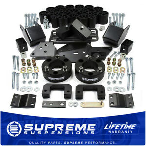 Fits 14 15 Silverado 1500 6 4 Full Suspension Body Lift Kit Diff Drop Shirt
