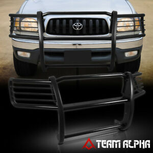 Fits 1998 2004 Tacoma Black Mild Steel 1 5 front Bumper Grille brush Guard grill