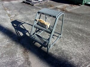 Cotterman 3 Step Rolling Stand New