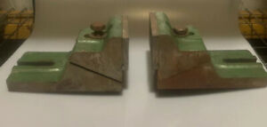 Large Ralmike s Two Piece Milling Mill Machine Vise Machinist Tool 2 Pc Xl