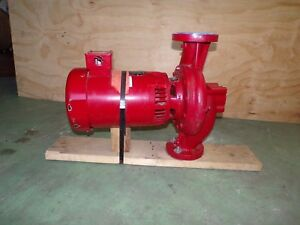 New Hot Water Circulating Pump Baldor Reliance Super e Electric Motor Hp 7 5