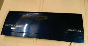 Rear Tail Gate Hatch 03 09 Dodge Ram 2500 Blue Small Ding