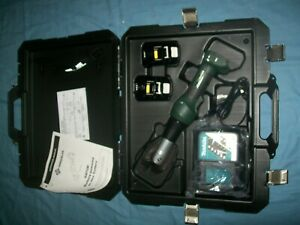 New Greenlee Gator Ek628lx11 18v Lithiumion Cordless 6 Ton Cable Cutter Cjb Jaws
