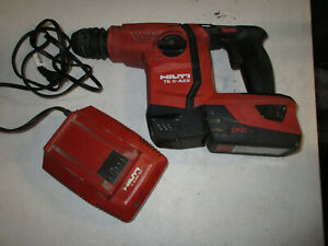 Hilti Te 6 a22 22v Cordless Rotary Hammer Drill W 1 Battery charger