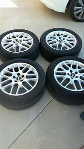 2014 Mustang Factory 18 Inch Rims And Tires