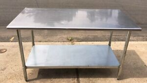 Stainless Steel Table 5 Foot