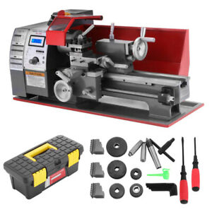 7 12 Precision Mini Metal Lathe Automatic Wood Drilling Machine Benchtop