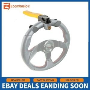 Universal Car Truck Steering Wheel T Type Antitheft Lock Security Rotary W Keys