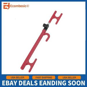 New 3 Way Steering Wheel Lock Heavy Duty Anti theft Device For Car Truck