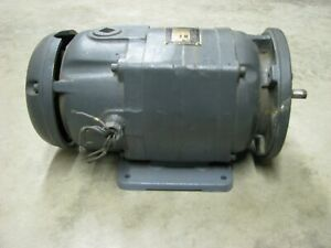 Baldor Dc Electric Motor Cdx2001 Direct Current 1 Hp 1750 Rpm