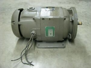 Baldor Dc Electric Motor M100xp Direct Current 1 Hp 1750 Rpm