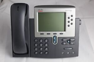 Lot 5 Cisco 7962g Ip Business Phones W Stands And Handsets