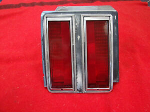 78 Cutlass Tail Light Bezel Lh Taillight Trim Moulding 1978 Olds Oldsmobile Used