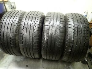 4 255 55 18 109h Michelin Alpin Hp Zp Snow Tires 8 5 9 32 No Repairs 4608
