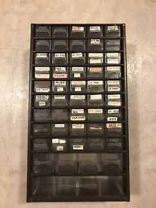 50 drawer Brown Metal Storage Container