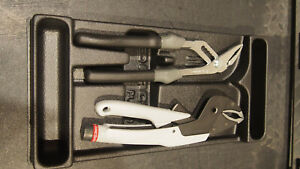 Facom Tools 2 Piece Pliers Set T5 L Trigger Release Locking 180 Cpe 250mm Grip