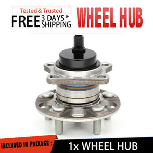 Ha590373 Rear Wheel Hub Bearing Assembly For 2010 2015 Toyota Prius New