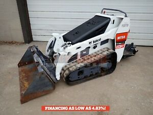 2019 Bobcat Mt55 Mini Track Loader 70 Hrs Sulky Aux Hydraulics 24 8hp Diesel