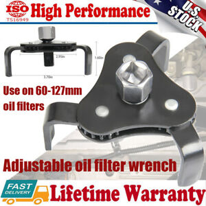 Universal Car Tool Two Way Oil Filter Wrench Adjustable Spanner Remover W 3 Jaw