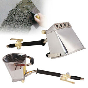 4 Jet Cement Mortar Spray Gun Hopper Concrete Stucco Plaster Paint Wall Tool