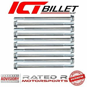 Ict Billet Gm Ls Car Intake Manifold Bolt Kit Fits Ls Gen 3 Gen 4 Car Intake