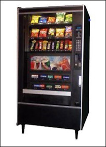 National Vendors 797 Canned Combination Snack soda Vending Machine