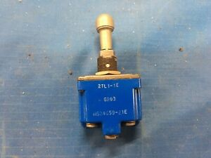 Eaton Cutler Hammer Ms24659 21e Toggle Switch On Off On 20amp Nsn 5930 00 883