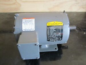 Baldor 2 Hp Totally Enclosed Air Over Motor Aom3558t 3 Phase 2hp