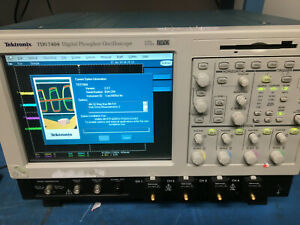 Tektronix Tds7404 Digital Phosphor Oscilloscope Dpo 4 Ghz 20 Gs s used