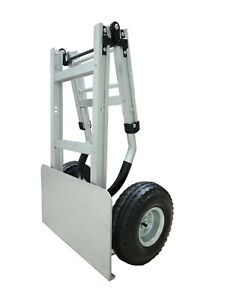 Tyke Supply Commercial Aluminum Full Size Folding Hand Truck Dolly Airtires Hs36