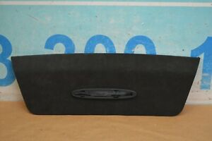 2012 W218 Mercedes Cls63 Rear Headliner Parktronic Cover Panel Black Suede