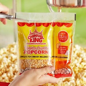 24 pack All in one Large Butterfly Popcorn Kit For 12 Oz To 14 Oz Poppers