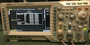300mhz Ds2072a Upgraded Rigol Digital Oscilloscope