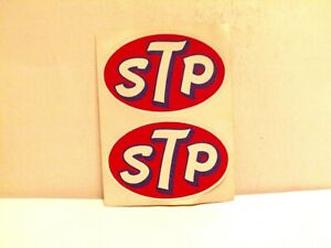 Vintage Late 1960 s Gas Station Hot Rod Decales Stp Original Owner Never Used