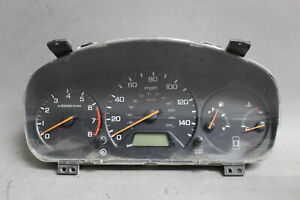 2000 2001 2002 Honda Accord Sedan 4cyl Instrument Cluster Speedometer Oem